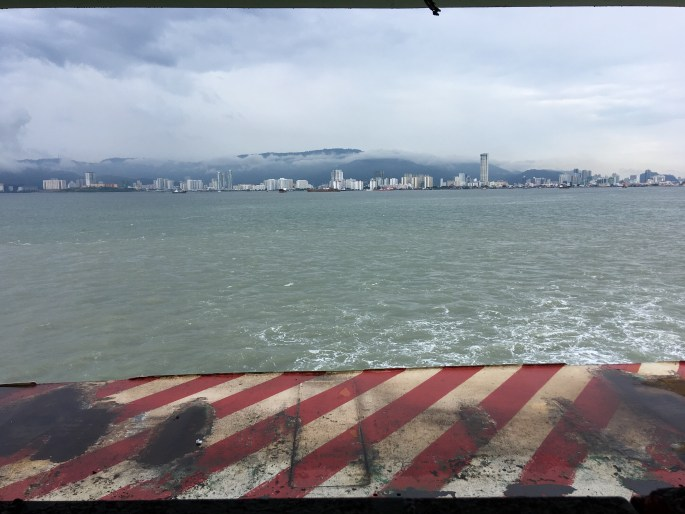 ferry to Georgetown, Penang