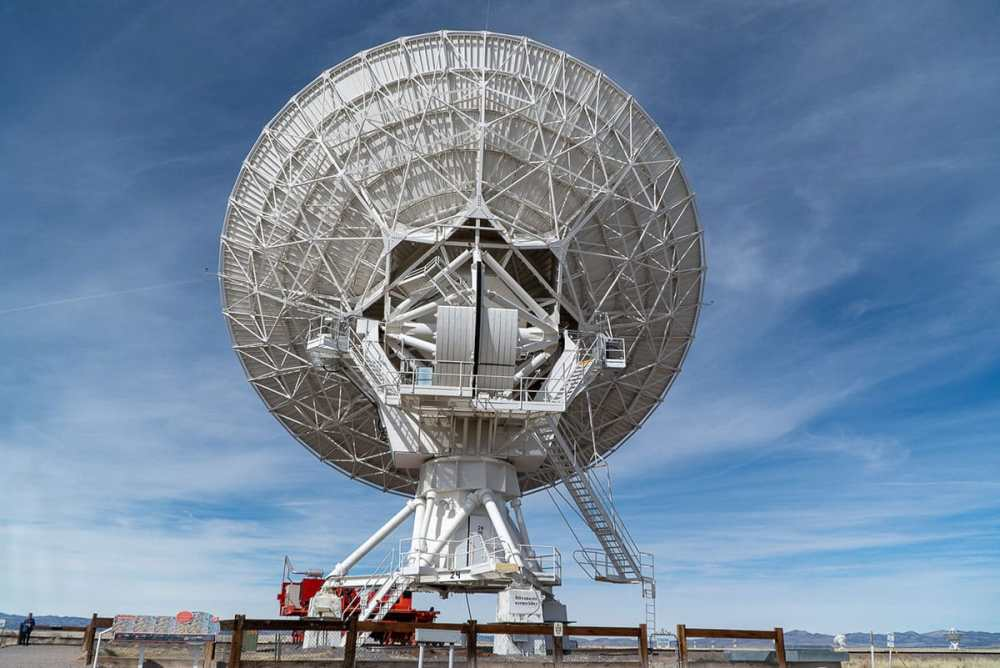 Visiting the Very Large Array: searching for extraterrestrial life should be the main goal for the VLA. At least in my opinion.
