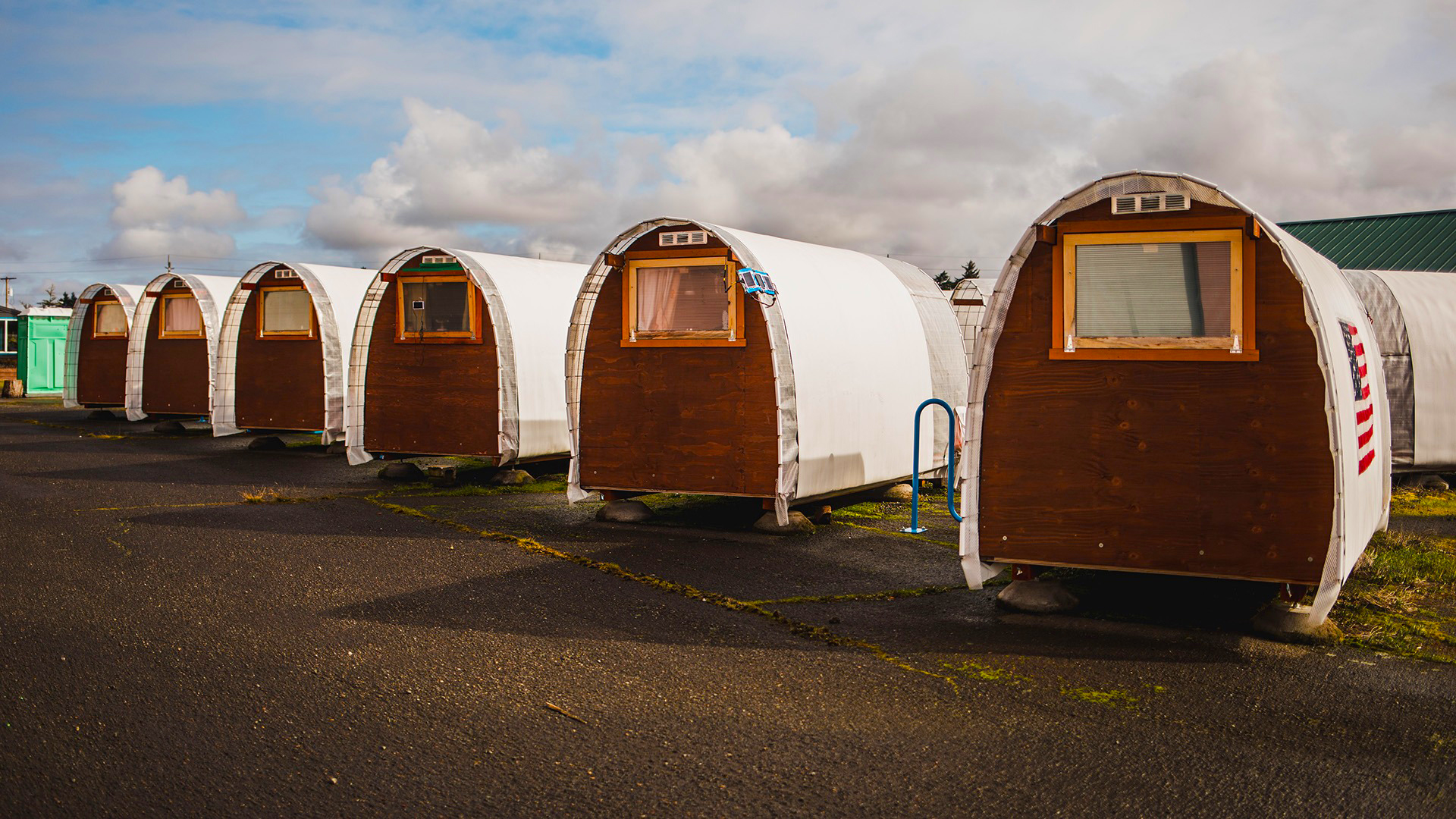 Microshelters offer longer-term solution for homeless in COVID-19 response