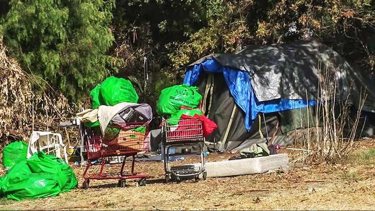 Cash for Trash: San Jose Launches Program to Pick Up Homeless Camp Garbage