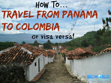 how to travel from panama to colombia