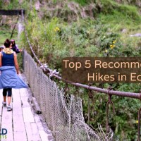 Top 5 Hikes in Ecuador