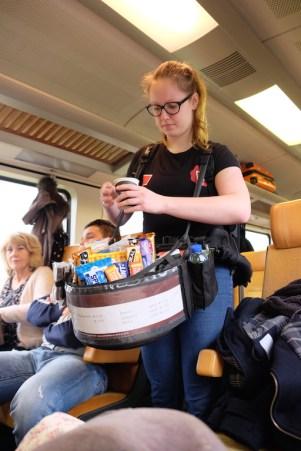 Train to Antwerp