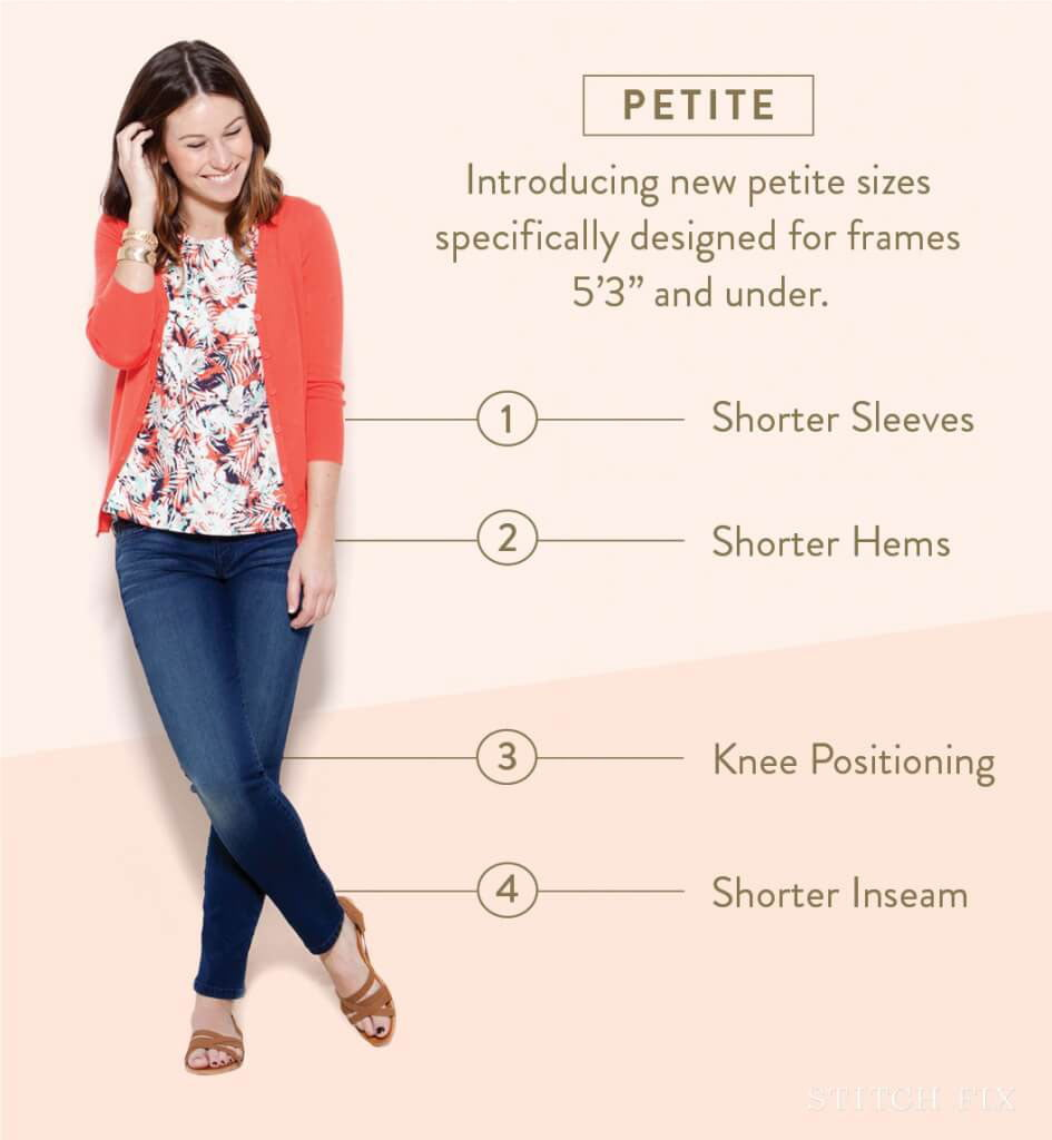 What is Petite Size?