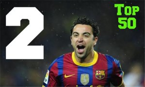 Top 50 Players in the World #2 - Xavi Hernandez