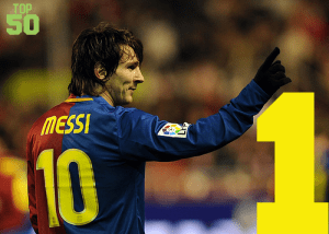 Top 50 Players in the World #1 - Lionel Messi
