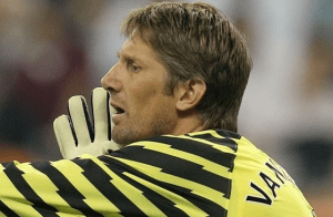 Changing of the Van der Sar-d