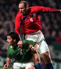 Paul Butler and Jan Koller 23/2/2000