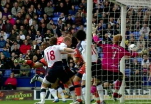 "Bolton out of bottom three as QPR fume over Hill ""goal"""