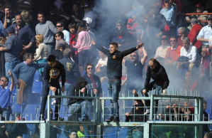 Ultras strike again in Genoa