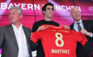 Influence pre-appointment? Javi Martinez was a one-time Barcelona target for Barcelona, who Sammer delivered for Bayern