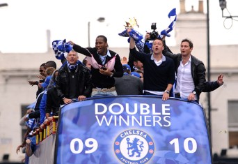 Soccer - Chelsea Victory Parade - Eel Brook Common