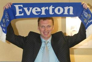 Moyes on his first day as Everton manager
