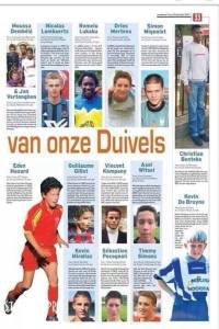 Scarily accurate article from 2002 listing some of Belgium's future stars