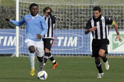 Amichevole SS Lazio Primavera Vs AC Siena nel centro sportivo della Lazio a Formello