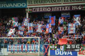 SD Eibar, on the verge of promotion and demotion
