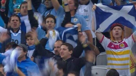 Scotland fan