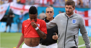 Video: Sterling and Valencia see red in friendly