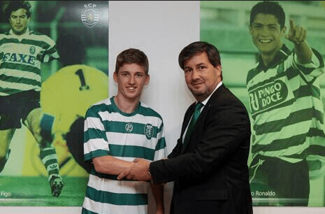 Ryan Gauld Sporting Lisbon