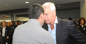 Alan Pardew up to his old headbutting tricks again