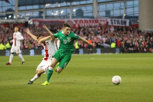 Ireland Poland Robbie Brady