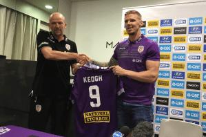 Irish international Keogh re-joins Perth Glory