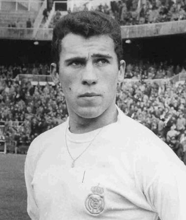 Amancio of Spain and Real Madrid