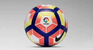 Pic: La Liga gets a new ball and logo for 2016/17