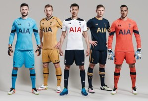 Pic: Tottenham Hotspur release three new Under Armour kits
