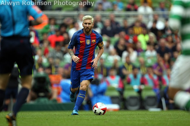 Barcelona Celtic 1 Messi