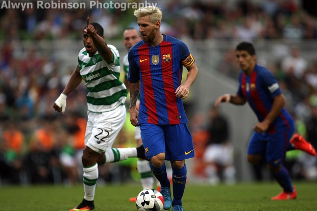 Barcelona Celtic 9 Messi