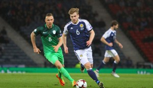 Stuart Armstrong lights up Hampden against Solvenia
