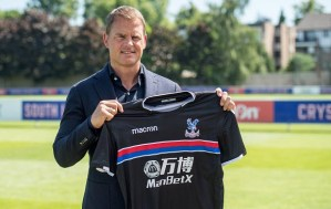 Frank De Boer - Between excitement and caution at Crystal Palace