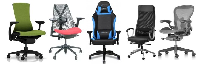 Chairs for upper and lower back pain