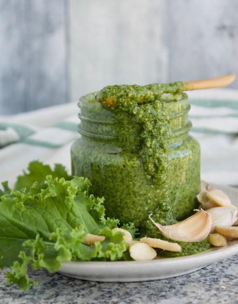 dairy free kale pesto