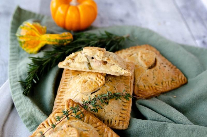 Thanksgiving dinner hand pies