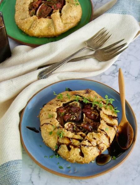 paleo fig galette