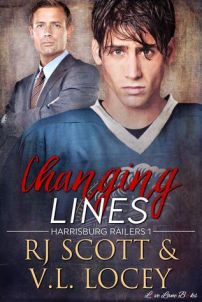 Review Tour & Giveaway: Changing Lines by RJ Scott and V.L. Locey