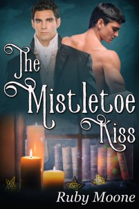 Cover - The Mistletoe Kiss by Ruby Moore