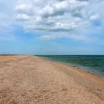 Shore at the Sea Of Azov. Photo by Ryan Johnson
