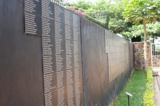 The names of those killed in the genocide