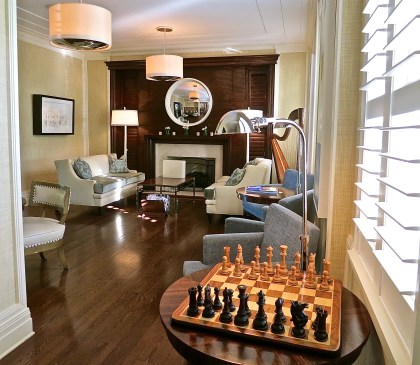 Perhaps A Game Of Chess In The Lounge