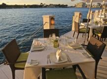 Dockside Table For Dinner