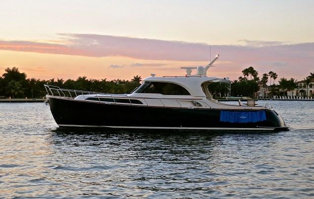 The Pillar's Beautiful Yacht