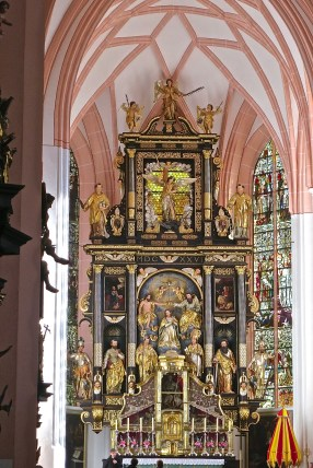 Interior Of St. Michael's Church, Mondsee, Austria