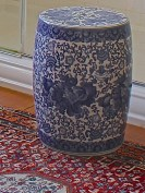 Ceramic Oriental Garden Seat