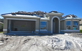 Our House Is Ready For Its Barrel Tile Roof To Go On