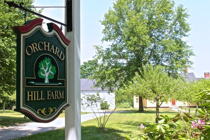 Orchard Hill Farm Sits Back From The Road On A Little Over Eight Acres