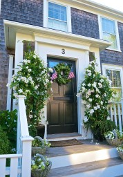 Welcoming Nantucket Front Door