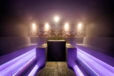 Steam Bath In The Spa At Wellnesshotel Gmachl, Bergheim, Austria
